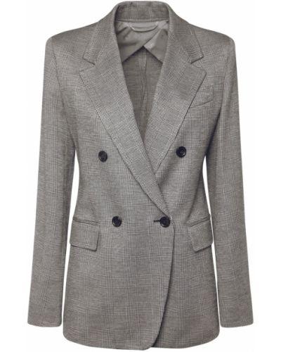 Трикотажная куртка двубортная с карманами Max Mara
