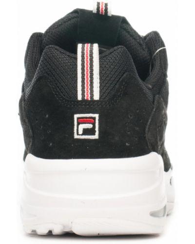Кроссовки - черные Fila
