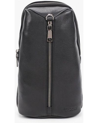 Черный кожаный рюкзак Vitacci
