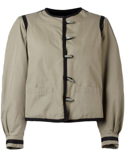 Пиджак длинный - серый Yves Saint Laurent Vintage