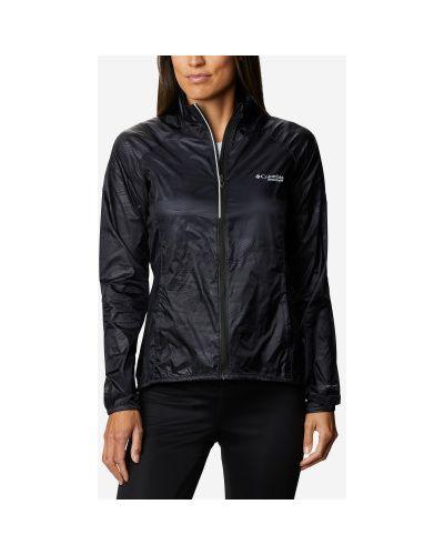 Приталенная черная куртка на молнии Columbia