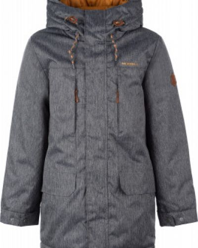 Куртка черная теплая Merrell