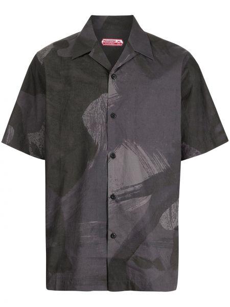 Серая рубашка короткая Maharishi
