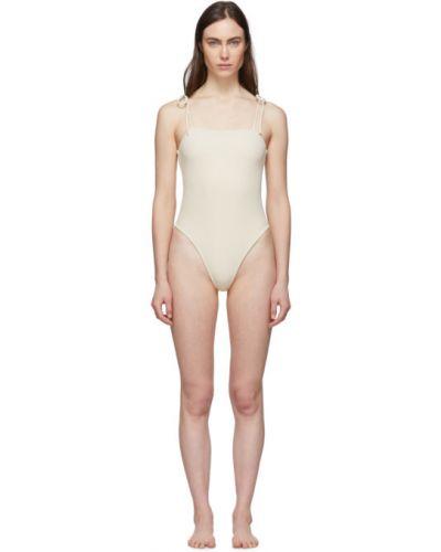 Biały strój kąpielowy z nylonu Le Petit Trou