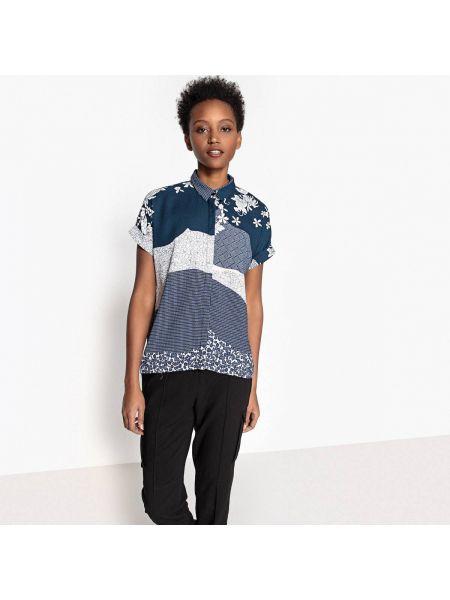 Рубашка с коротким рукавом с цветочным принтом с принтом La Redoute Collections