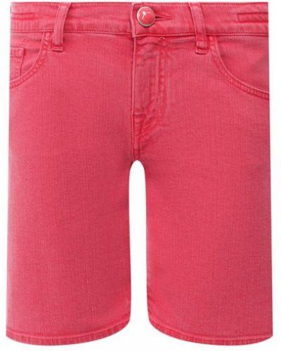 Джинсовые шорты - красные Jacob Cohen