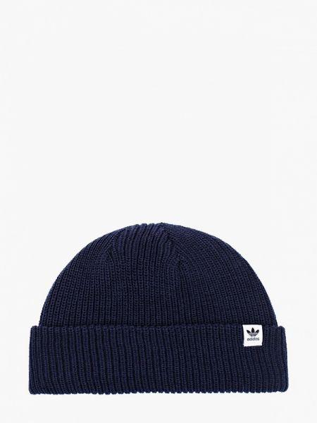 Синяя шапка Adidas Originals