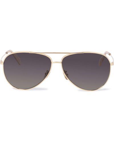 Солнцезащитные очки классические - золотые Celine Eyewear