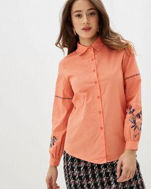 Рубашка с длинным рукавом коралловый красный With&out