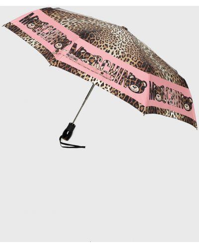 Parasol różowy Moschino