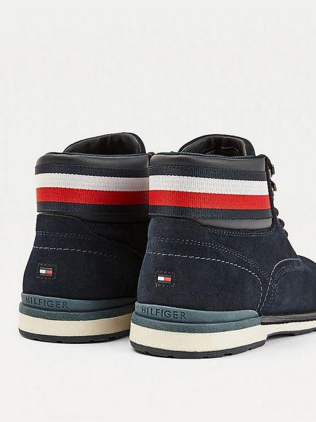 Ботинки - синие Tommy Hilfiger