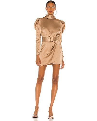 Пляжное шелковое платье мини с подкладкой Bronx And Banco