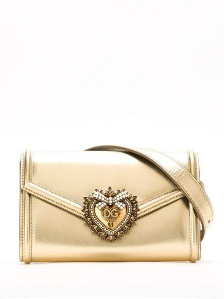 Поясная сумка с клапаном с логотипом Dolce & Gabbana