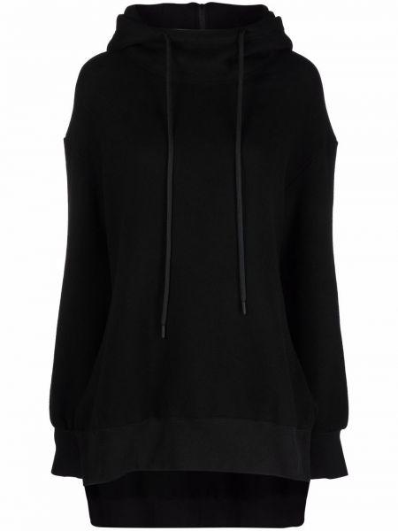 Czarna bluza bawełniana Yohji Yamamoto