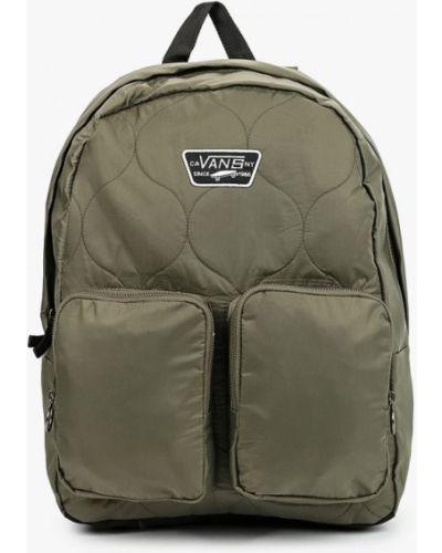 Текстильный рюкзак хаки Vans