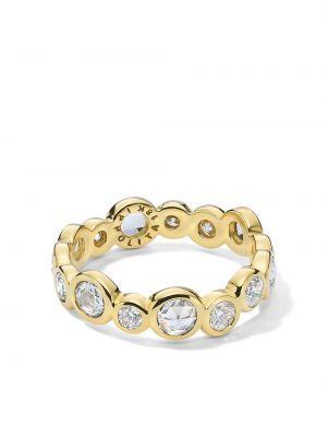 Żółty pierścionek z diamentem Ippolita