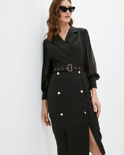 Вечернее черное вечернее платье Cavo