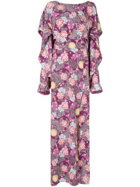 Платье макси - фиолетовое Natasha Zinko
