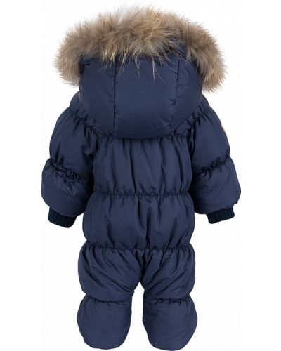 Зимний комбинезон с капюшоном натуральный Lucky Child
