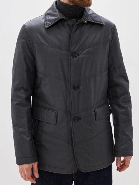 Серая теплая утепленная куртка Bazioni