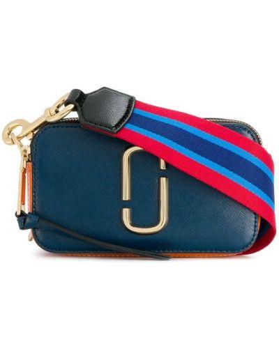 Синяя сумка кожаный Marc Jacobs