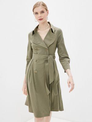 Зеленое платье Shartrez