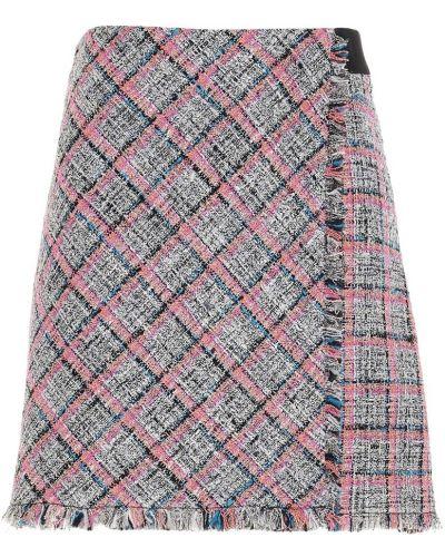Fioletowa spódnica mini boho Karl Lagerfeld