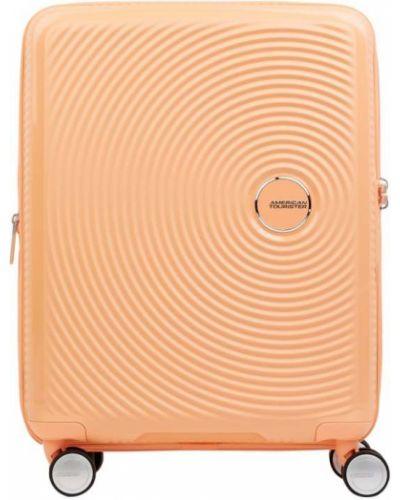 Pomarańczowa walizka American Tourister