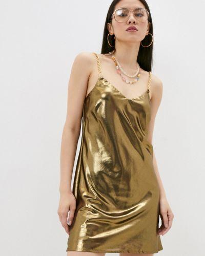 Вечернее платье - золотое Chiara Ferragni Collection