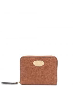 Skórzany portfel z logo Mulberry