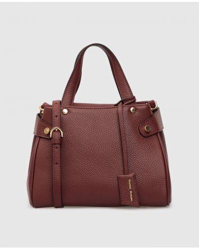 Кожаная сумка - красная Gianni Notaro
