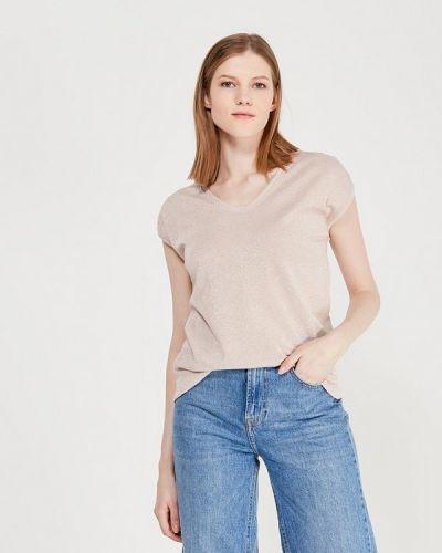 Розовая футболка Only