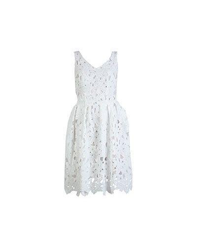 Повседневное платье - белое Ainea