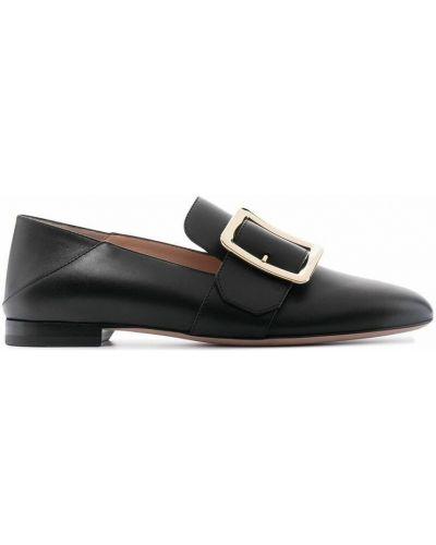 Loafers - czarne Bally