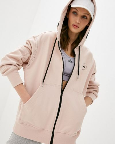 Розовая толстовка Adidas By Stella Mccartney