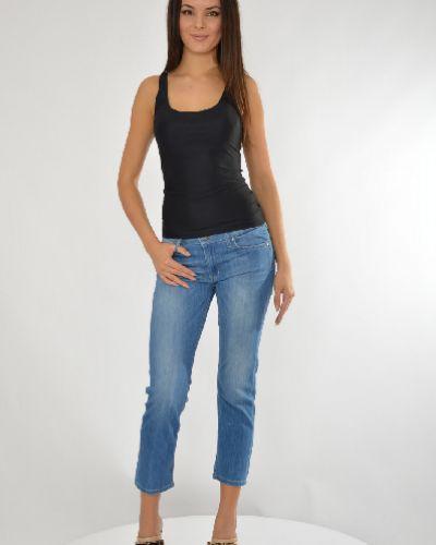 Джинсы-скинни с эффектом потертости летние Liu Jo Jeans