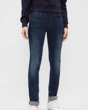 Зауженные джинсы - синие G-star Raw