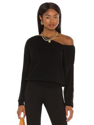 Черный свитер винтажный Line & Dot