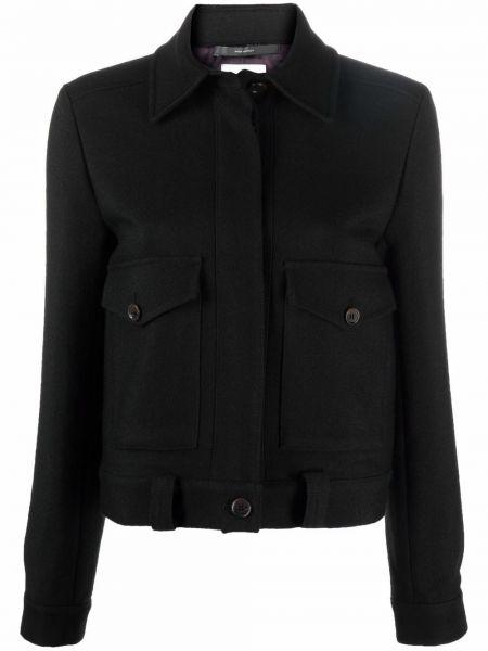 Черная куртка с карманами Paul Smith