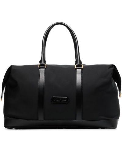 Кожаная дорожная сумка - черная Tom Ford