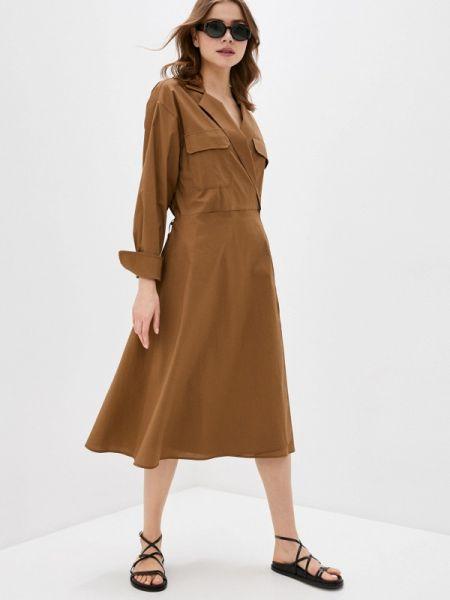 Платье с запахом весеннее Massimiliano Bini