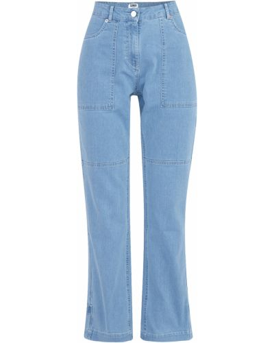 Широкие джинсы расклешенные с накладными карманами Sonia By Sonia Rykiel