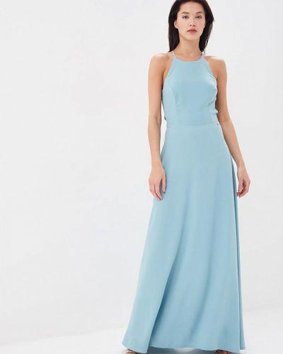 Повседневное платье весеннее бирюзовый Blugirl Folies