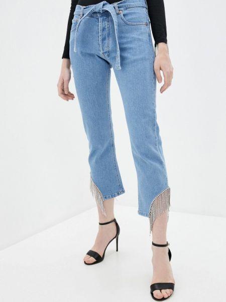 Зауженные джинсы - голубые Forte Dei Marmi Couture