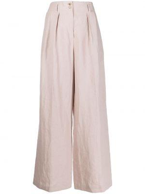 Розовые брюки с карманами свободного кроя Paul Smith