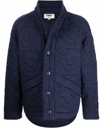 Niebieska kurtka bawełniana Ymc