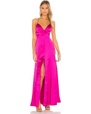 Sukienka z suwakiem różowa Lovers + Friends