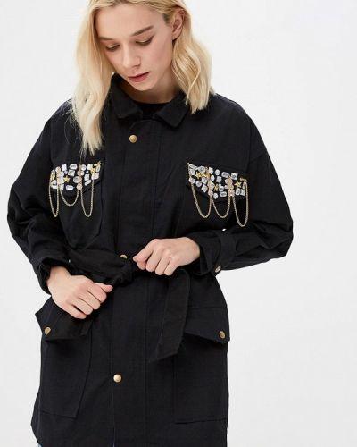 Куртка черная осенняя Mazal
