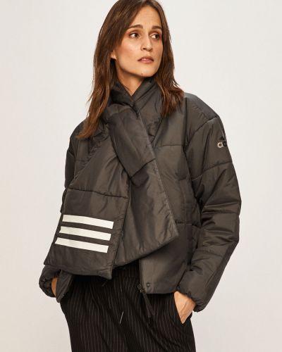 Куртка с капюшоном стеганая укороченная Adidas Performance