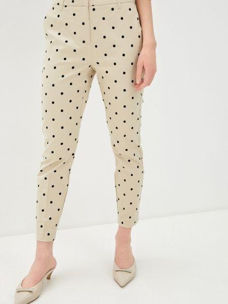 Бежевые брюки B.young